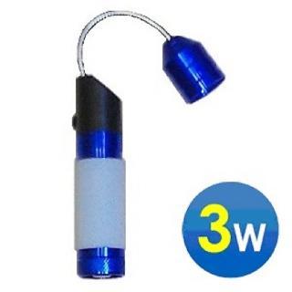 3W高亮度集光軟管LED白光手電筒(TH-616)