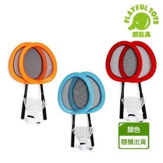 【Playful Toys 頑玩具】大羽球拍(超大趣味羽球拍組 布藝大板 羽球拍 羽毛球 新型羽毛球玩具)