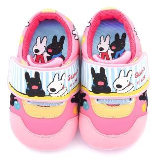 【童鞋城堡】麗莎與卡斯伯 小童 可愛繽紛寶寶鞋(GL7605-粉)