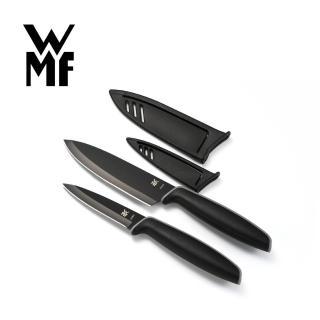 【德國WMF】Touch不鏽鋼雙刀組附刀套 9cm/13cm(一大一小2入組)