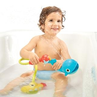 【以色列 Yookidoo】噴水鯨魚蓮蓬頭套組