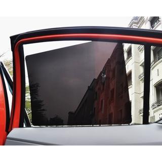 【car life】抗UV保護肌膚靜電膜 二組4入(遮陽|隔熱|防曬)