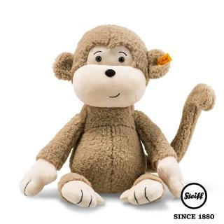 【STEIFF德國金耳釦泰迪熊】Brownie Monkey 猴子(動物王國_黃標)