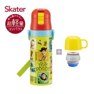 【Skater】不鏽鋼直飲保溫水壺-ToyStory(附杯蓋組)