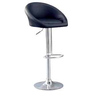 【AS】南茜皮面升降吧台椅-54x44x79cm(兩色可選)