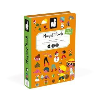 【法國Janod】磁鐵遊戲書-四季(兒童節特談)