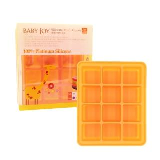 【韓國BABY JOY】鉑金矽膠副食品製冰盒 12格(副食品分裝盒 保存盒 冰磚)