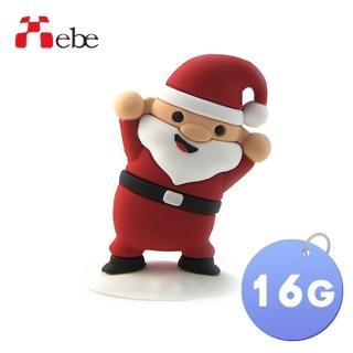 【Xebe集比】聖誕老公公造型隨身碟16G