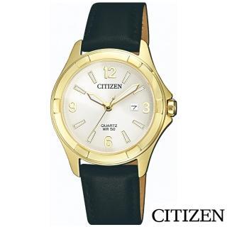 【CITIZEN 星辰】率性魅力石英女錶(EU6082-01A)