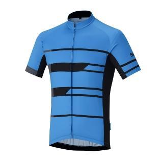 【SHIMANO】TEAM 短袖車衣(男款 藍)