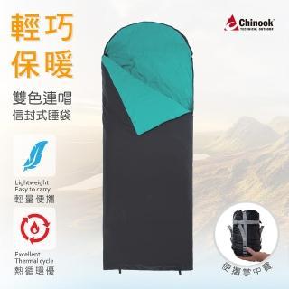【Chinook】超級掌中寶連帽信封式睡袋20315(露營睡袋)