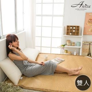 【A-nice】台灣精製˙3D加厚頂級軟藤涼蓆(5呎雙人)