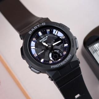 【CASIO 卡西歐】BABY-G 陽光海洋風格休閒運動腕錶(BGA-250-1ADR)