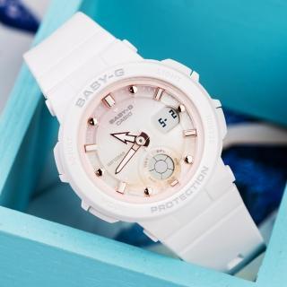 【CASIO 卡西歐】BABY-G 陽光海洋風格休閒運動腕錶(BGA-250-7A2DR)