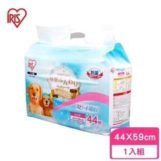 【IRIS】AS犬用厚型抗菌尿布〈44*59cm〉44片(AS-44W)