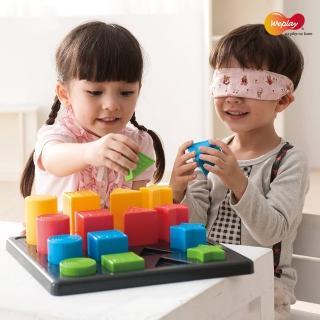 【Weplay】形色邏輯積木(STEAM玩具)