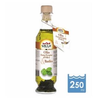 【Sacla】義大利初榨橄欖油/羅勒風味(250ml)