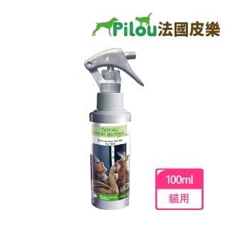 【Pilou 法國皮樂】天然草本情緒安撫噴劑-貓用100ml(環境用)