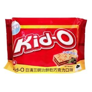 【NISSIN 日清】Kid-O三明治餅乾-巧克力(350g-奶素)
