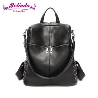 【Belinda】索菲雅二用後背包-黑色
