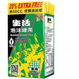 【生活】泡沫綠茶300mlx2箱(共48入)