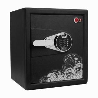 【TRENY】大福-小關系列 45 保險箱(合金鋼板保險箱 金庫 財庫 現金箱 保管箱)