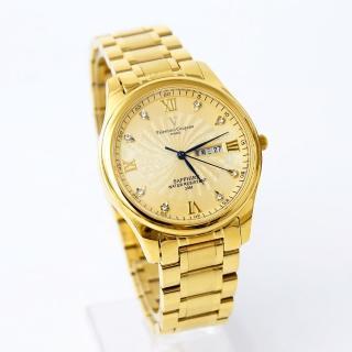 【Valentino Coupeau】水鑽不鏽鋼金錶