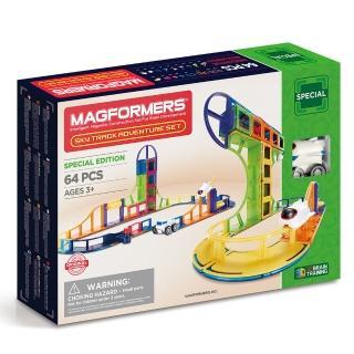 【Magformers】磁性建構片-雲霄飛車探險組(2018新品上市)