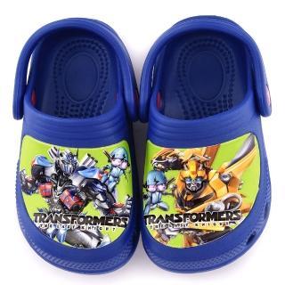 【童鞋城堡】不對稱設計花園鞋 變形金剛(TF10063-藍)