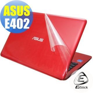 【Ezstick】ASUS E402 E402N E402NA E402M E402MA E402SA 二代透氣機身保護貼(含上蓋貼、鍵盤週圍貼)