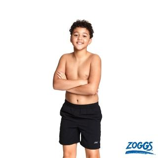 【Zoggs】少年基本款休閒海灘褲-黑