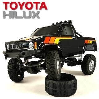 【Thunder Tiger雷虎科技】TOYOTA HILUX 海力士 1/12 攀岩車 黑 6603-F133-A1(攀岩車)