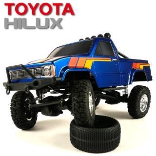 【Thunder Tiger雷虎科技】TOYOTA HILUX 海力士 1/12 攀岩車 藍 6603-F132-A1(攀岩車)