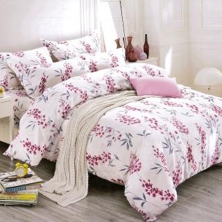 【TRP】柔絲絨雙人四件式印花兩用被床包  花卉(天絲絨)
