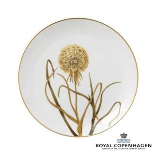 【Royal Copenhagen 皇家哥本哈根】骨瓷盤27cm(芙蘿拉花神-蒲公英)