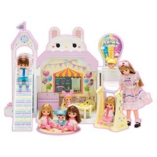 【TAKARA TOMY】莉卡娃娃配件 莉卡歡樂兔兔幼稚園(女孩 洋娃娃)