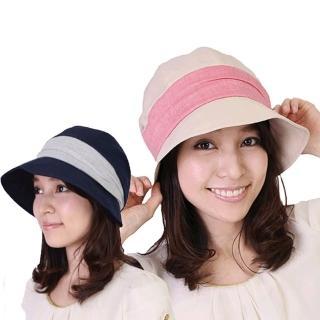 日本輕量防曬護耳小顏遮陽帽