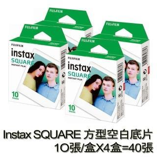 【FUJIFILM 富士】instax SQUARE 方型空白底片(4入組)