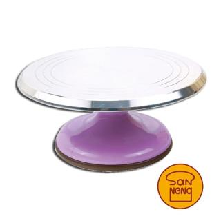 【SANNENG 三能】蛋糕轉台-粉紫色