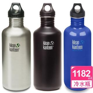 【Klean Kanteen】窄口經典不鏽鋼冷水瓶(1182ml)