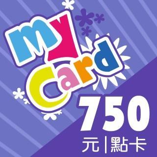 【MyCard】750點點數卡/
