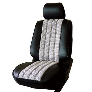 【葵花】量身訂做-汽車椅套-日式合成皮-賽車條紋-A款(轎車款第1+2排)