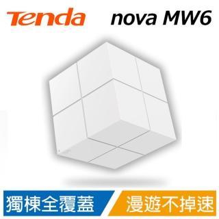 【Tenda 騰達】nova MW6 Mesh 無線網狀路由器 WiFi魔方(單顆組 50坪內適用)