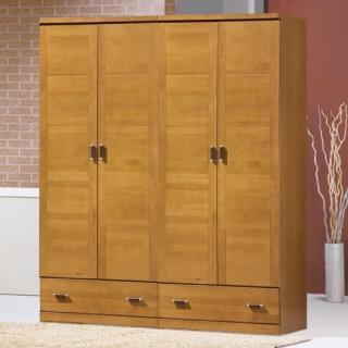 【AS】貝蒂實木6x7尺衣櫃-172x57x210cm