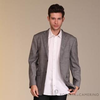 【ROBERTA 諾貝達】義大利原裝進口 紳士率性 羊毛獵裝(灰色)