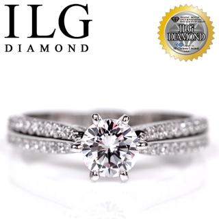 【美國ILG鑽飾】八心八箭戒指 - 魅力北歐款 RI103 主鑽約75分 細緻排鑽設計 經典婚戒求婚戒(戒指)