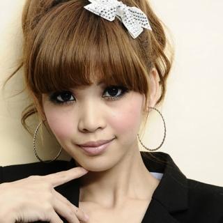 【Lady c.c.】微傾角度襯膚大圈圈耳環