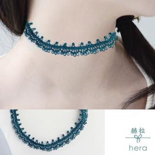 【HERA 赫拉】復古蕾絲極美頸鍊