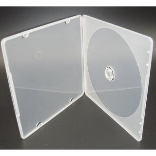 【臺灣製造】單片裝 5mm 摔不破PP霧透 CD盒/DVD盒/光碟盒/CD殼-12公分光碟片適用(50個)