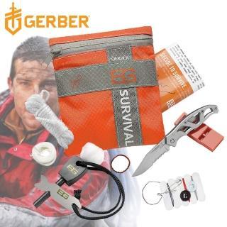 【Gerber】Gerber 貝爾求生系列 戶外野營急難工具包八件套組 31-000700